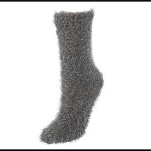 Lemon Accessories - NWT BUNDLE LEMON Gray Socks/Slippers (3 pairs)
